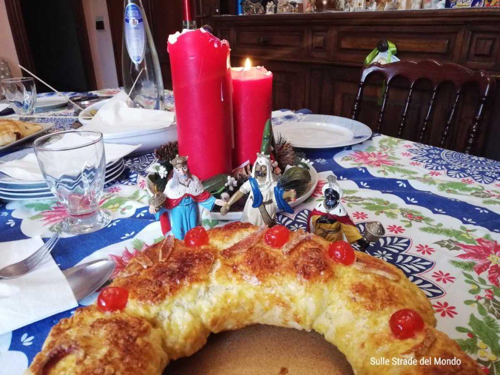 Roscón de Reyes il dolce dei Re Magi