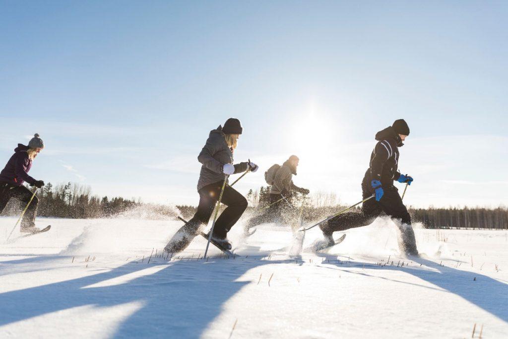 sciare in Finlandia