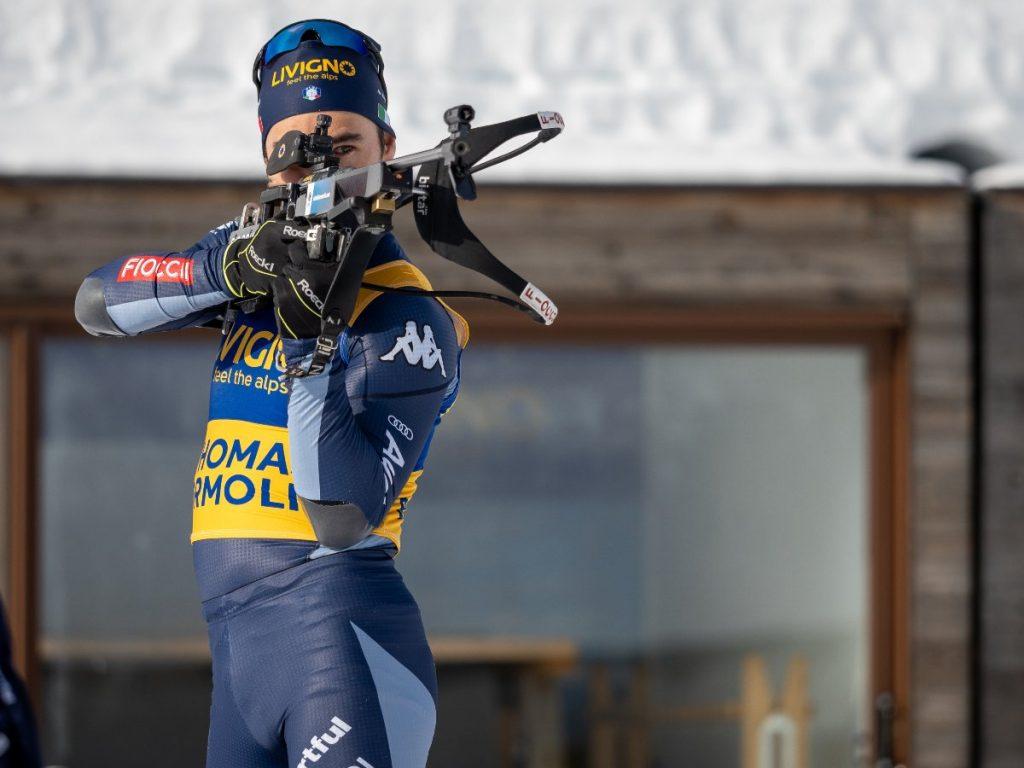 fare biathlon a Livigno