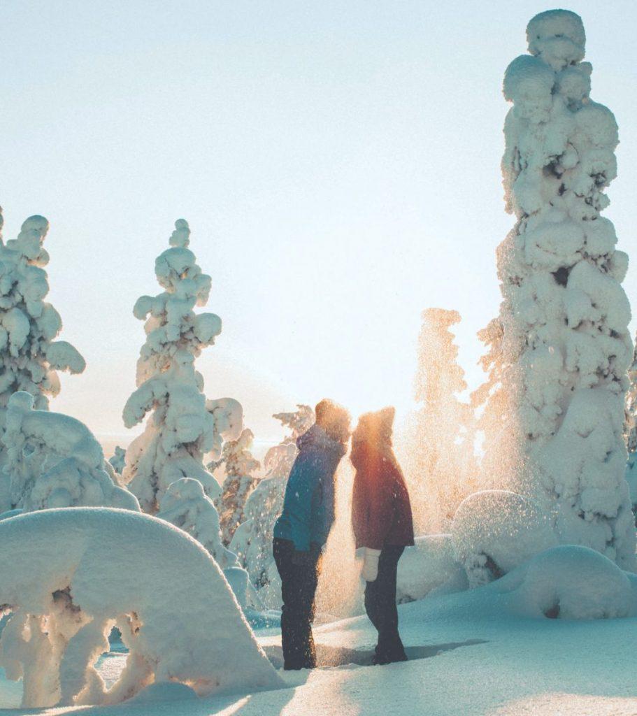 A San Valentino in Finlandia gli amici si fanno regali