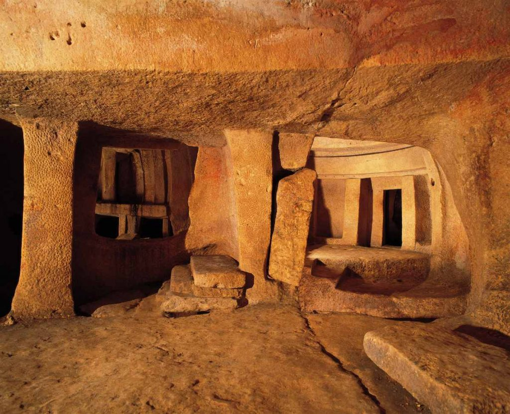 unico tempio ipogeo della Malta preistorica
