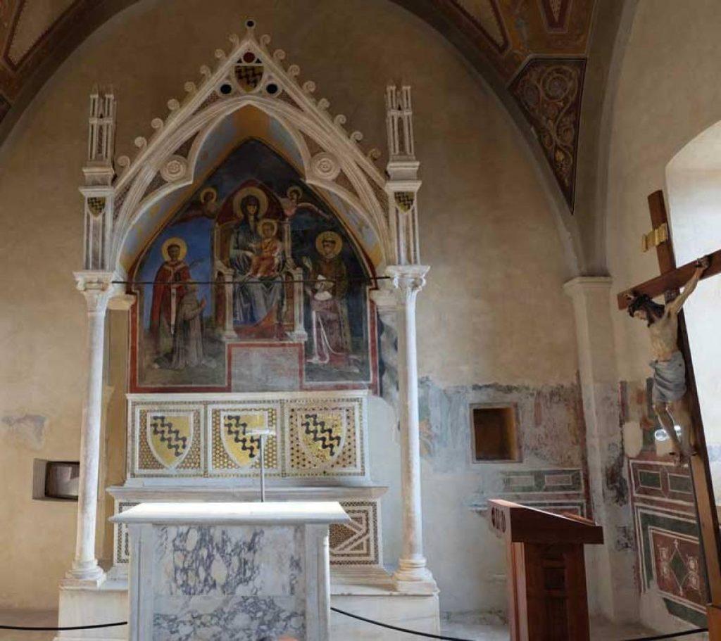 Affresco cattedrale di Anagni