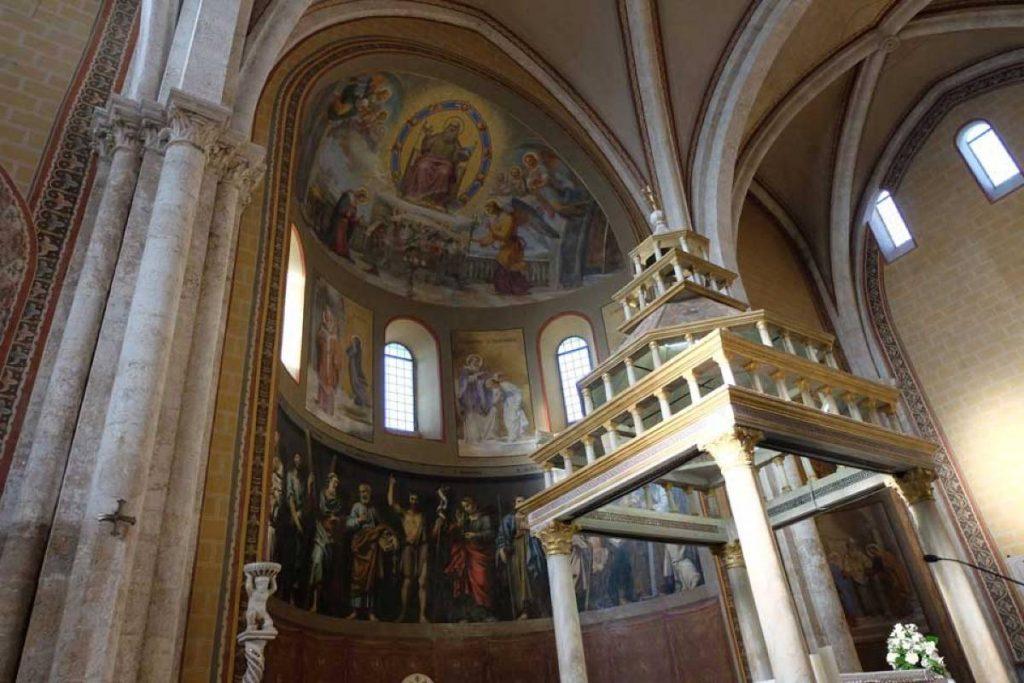 Cattedrale di Anagni, interno