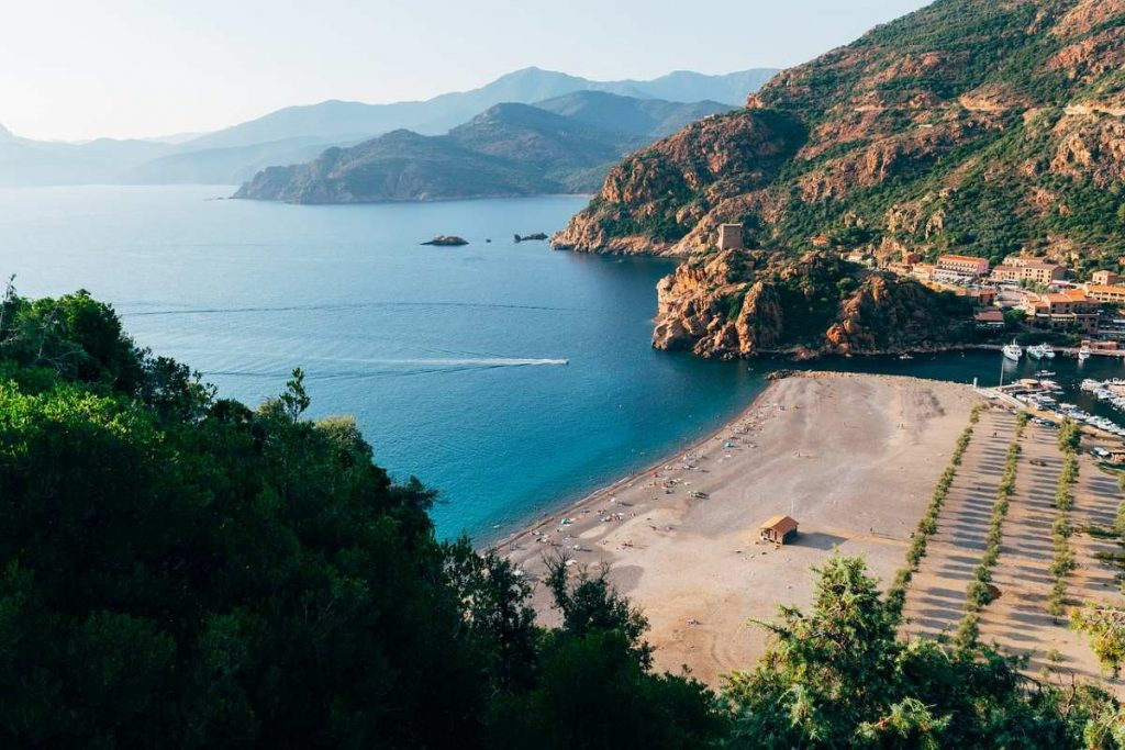 turismo slow in Corsica Francia