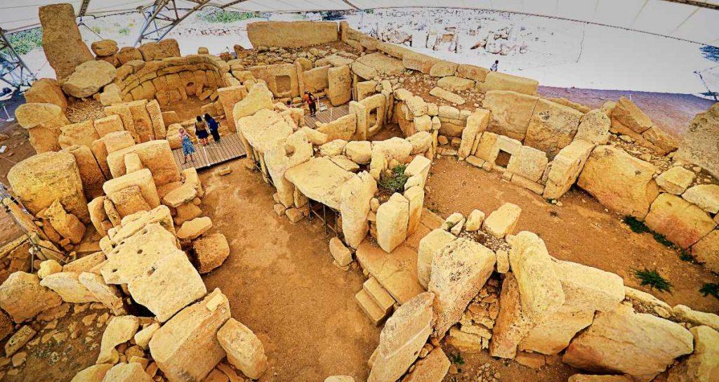 tempio preistorico di Ħaġar Qim