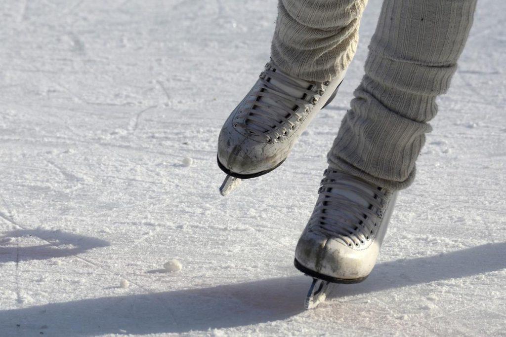 pattinare sul ghiaccio a Livigno