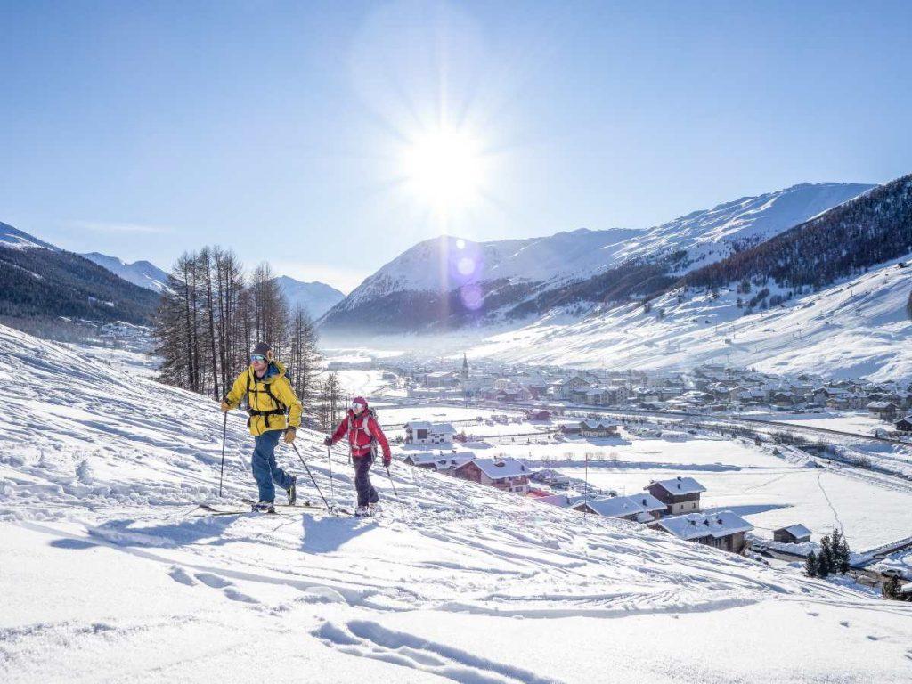 Lo sci alpinismo tra le 10 cose da fare a Livigno