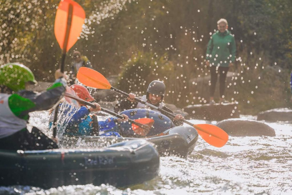 fare rafting in ucraina
