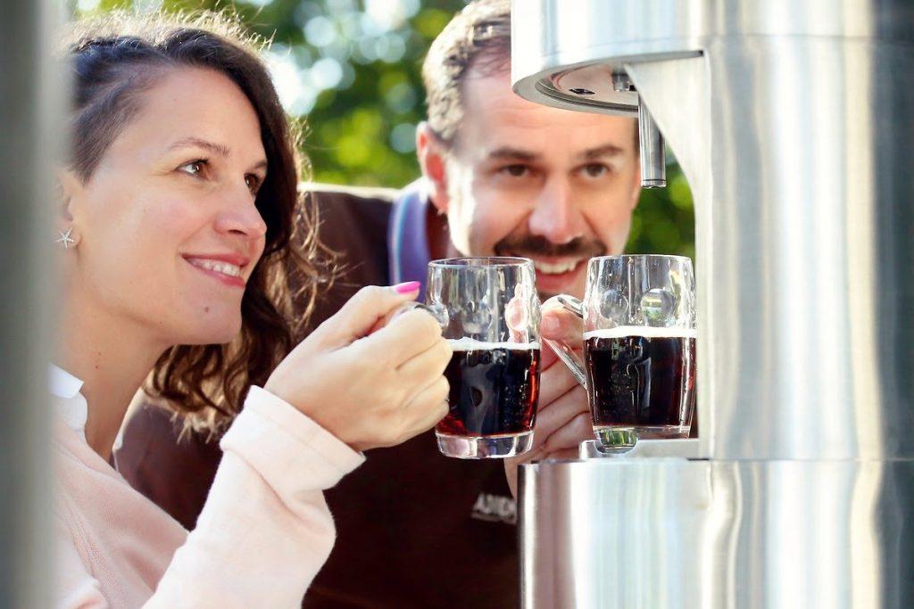 la fontana della birra
