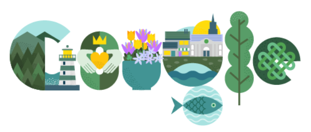 doodle google per san patrizio