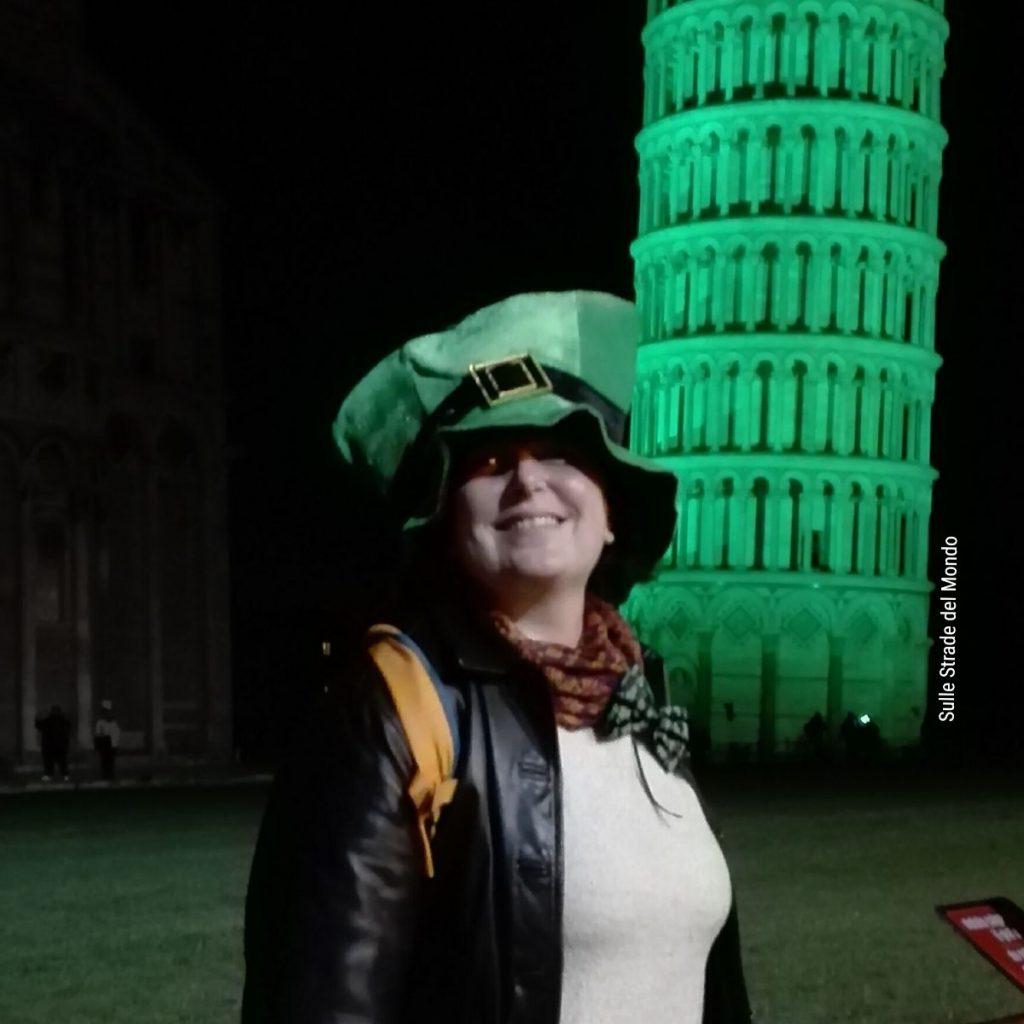 san patrizio torre di pisa verde