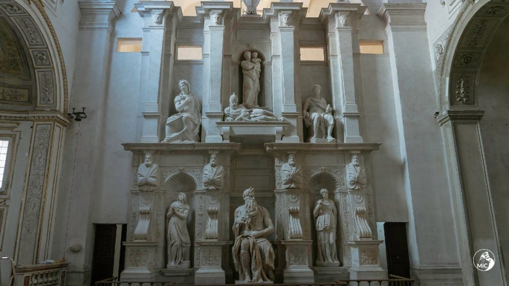Tomba di Giulio II di Michelangelo