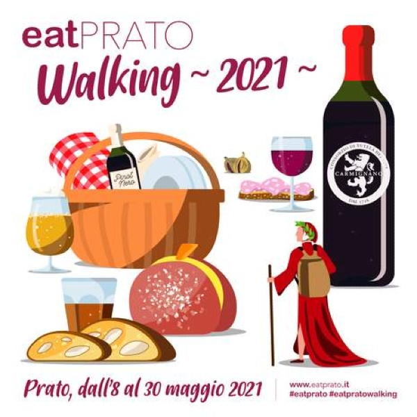 locandina eat prato walking 2021