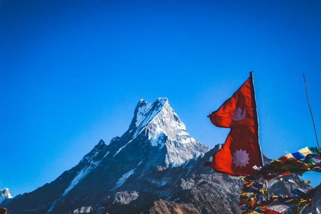 perché la bandiera del Nepal non è rettangolare
