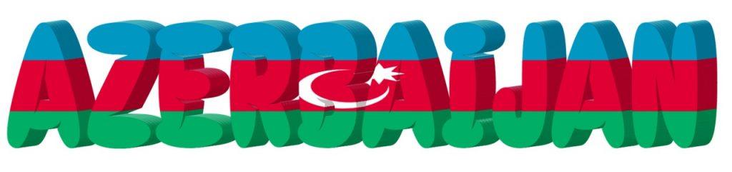 scritta azerbaijan