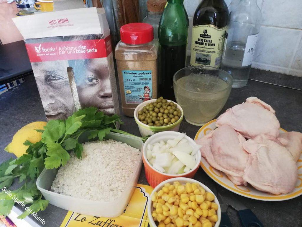 ingredienti galinhada