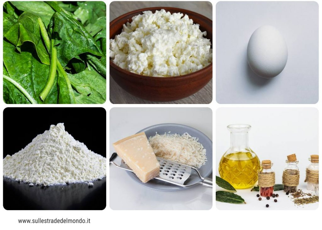 ingredienti degli gnudi
