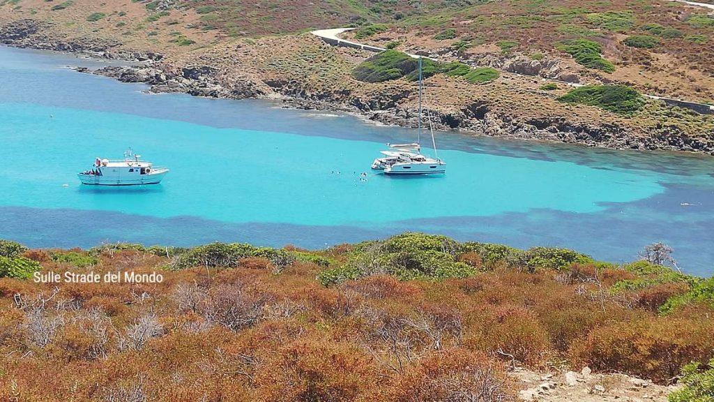 Barche all'Asinara