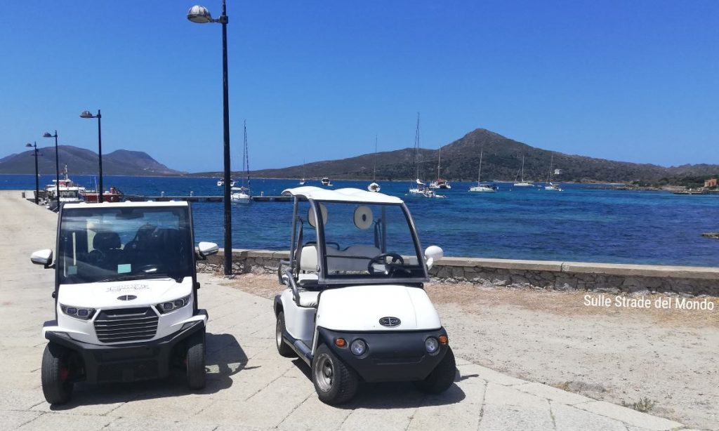 Asinara Escursione con le auto elettriche