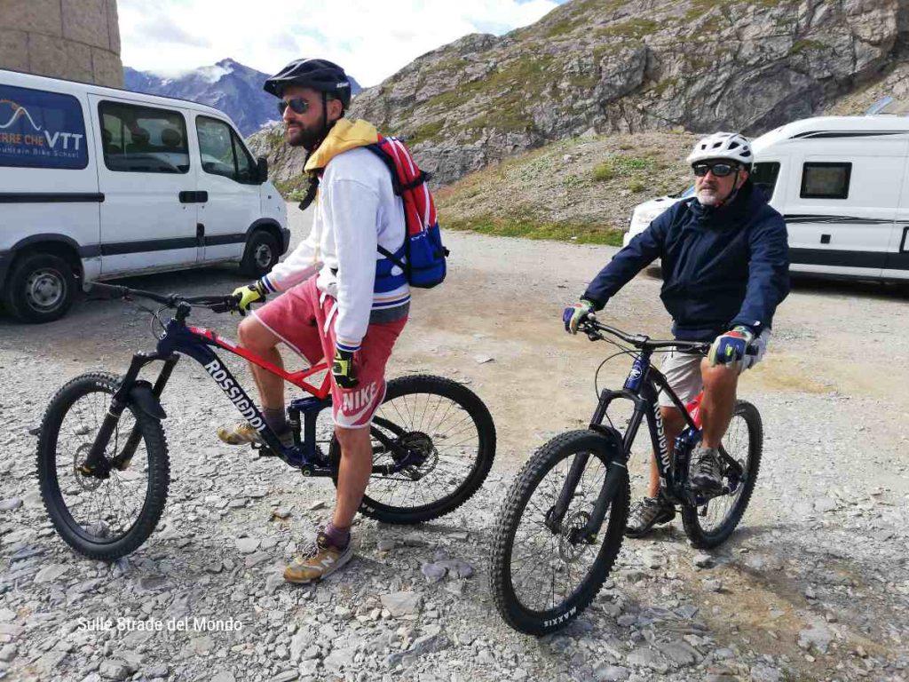 Discesa del Col du Galibier in VVT - mountain bike