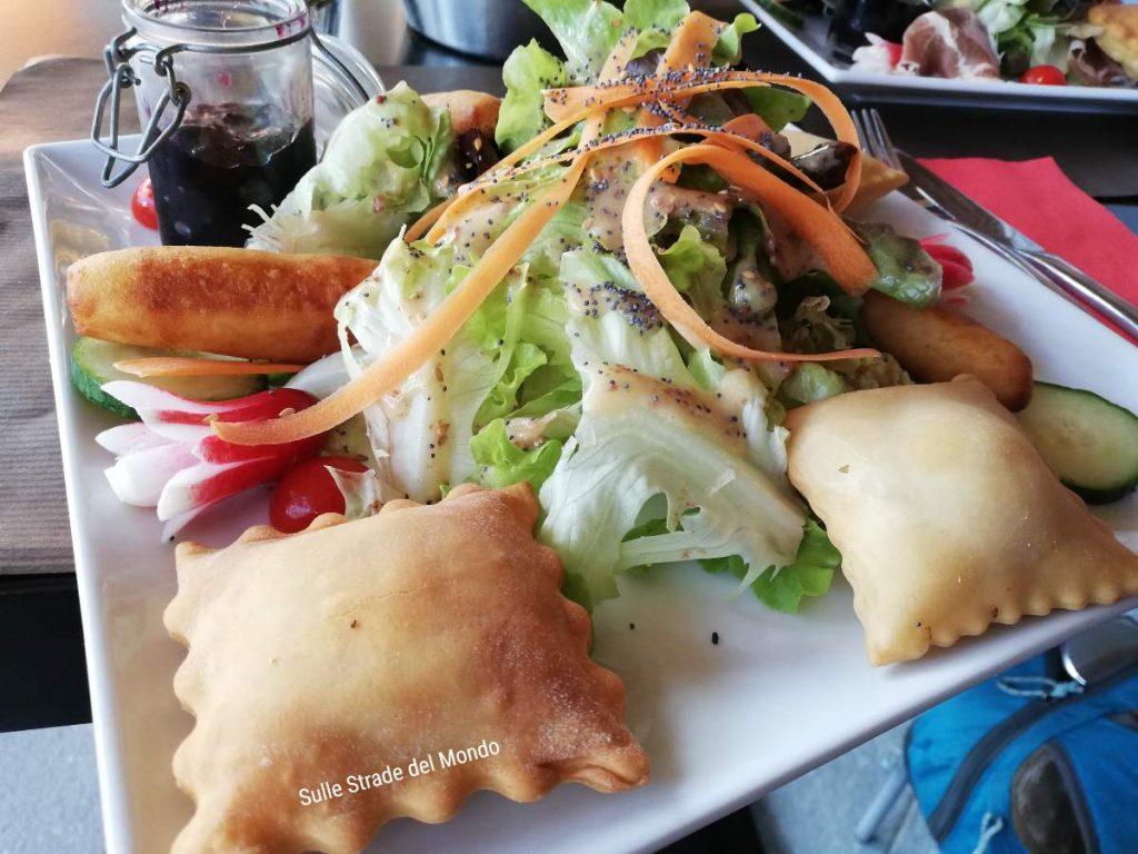 Pranzo leggero al ristorante del Monêtier-les-bains