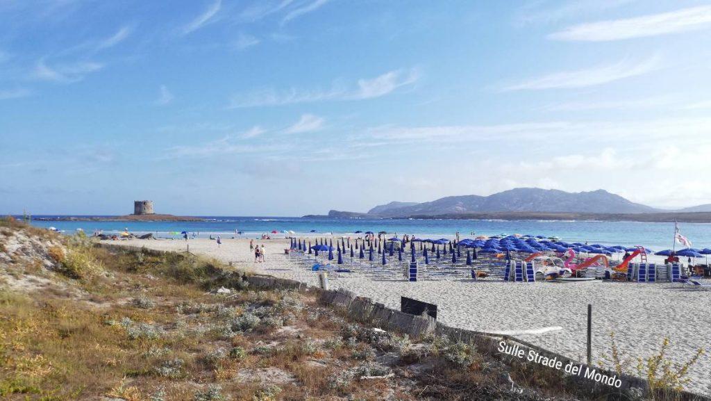 La pelosa, una delle spiagge più belle della Sardegna Nord Occidentale