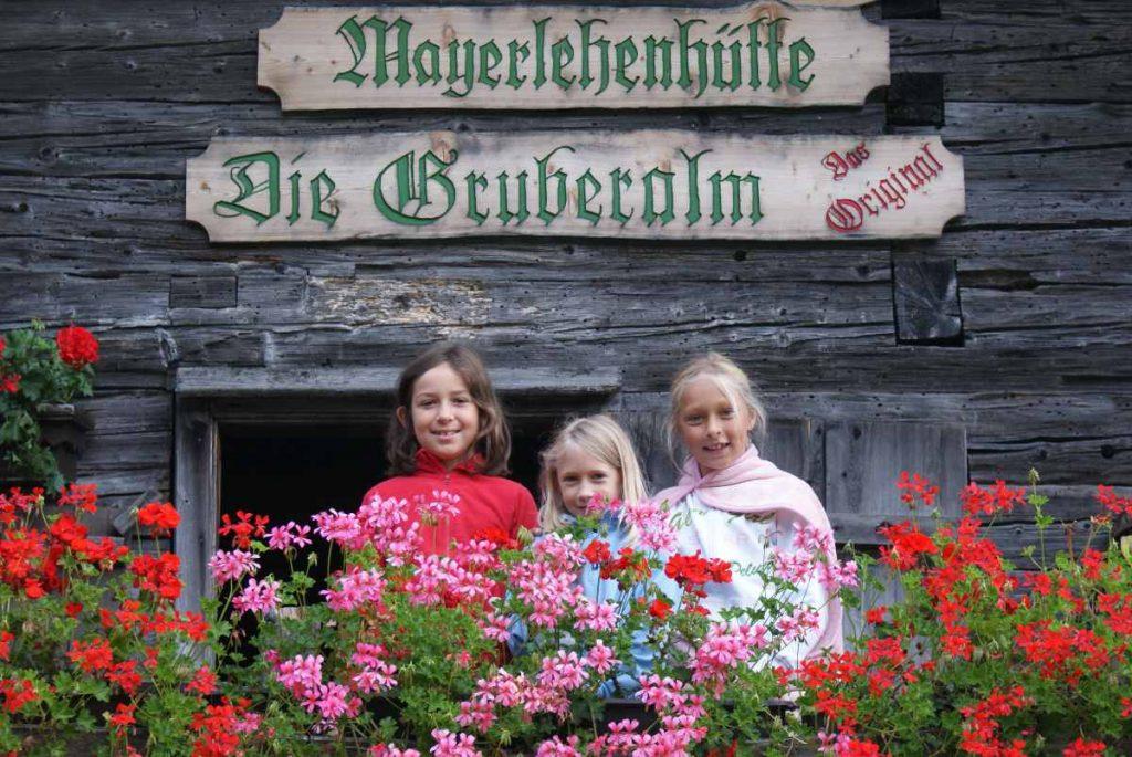 malga Mayerlehenhütte Gruberalm