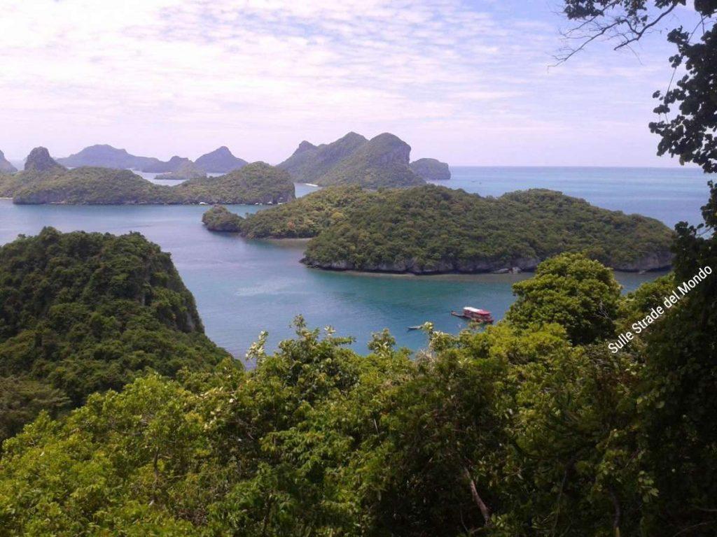 panorama Mu Ko Ang Thong National Park