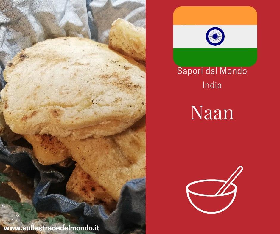 ricetta originale naan pane indiano yogurt