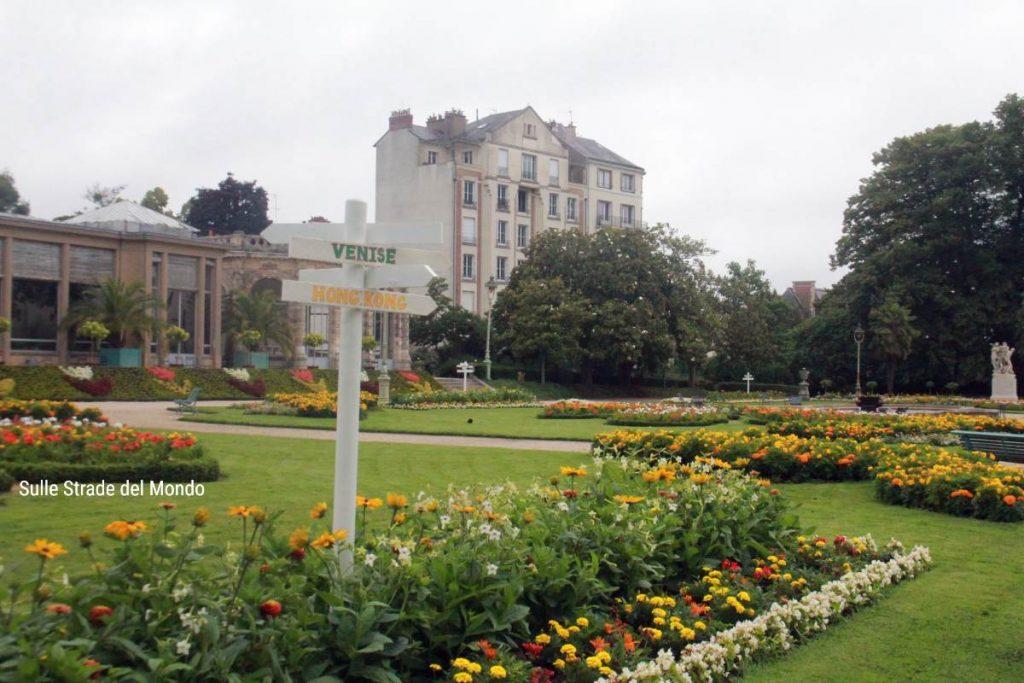 Parco Thabor giardinoa alla francese