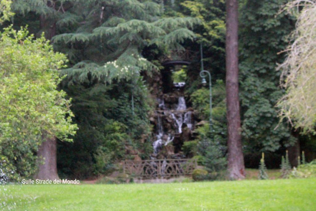 La cascata del Parco Thabor a Rennes