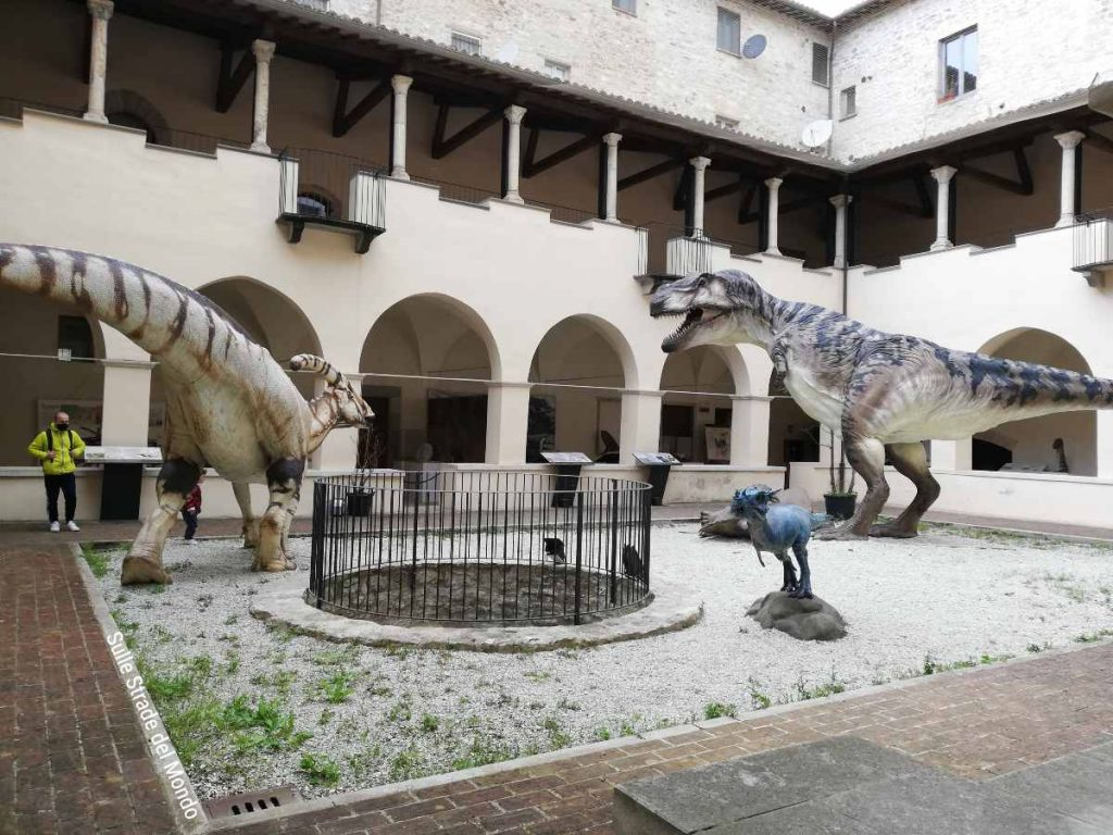 Mostra dinosauri gubbio