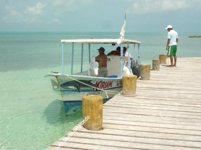 Barca escursione a Isla Contoy