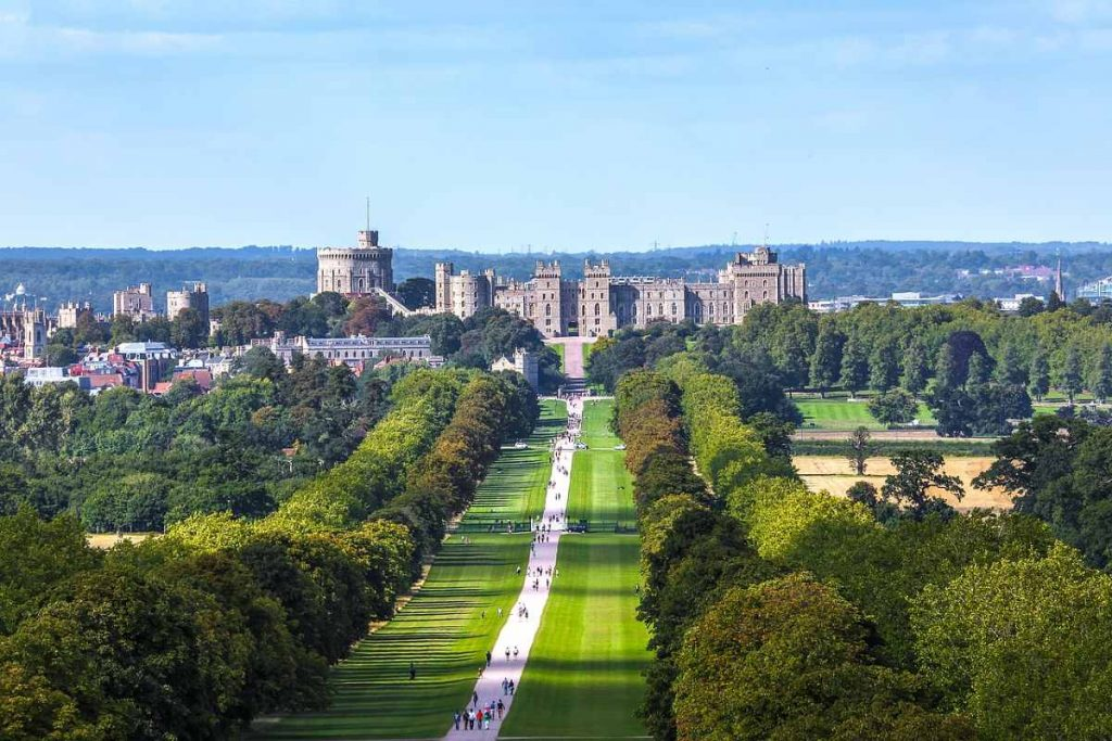 Windor non solo tra i castelli più belli del mondo anche tra i più grandi