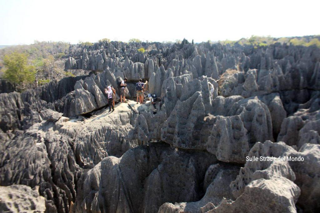 Madagascar Grandi Tsingy, panoramica