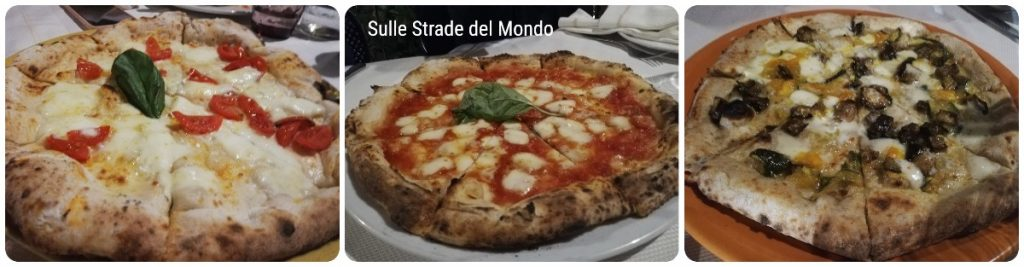 Mangiare la pizza napoletana a Caserta